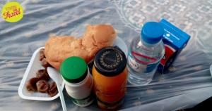 makanan untuk buka puasa yang didapat di Masjid Nabawi